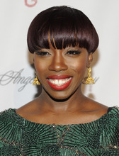 FILE - In this Oct. 17, 2011 file photo, singer Estelle attends the Gabrielle's Angel Foundation for Cancer Research