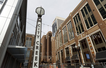 Trent Nelson  |  The Salt Lake Tribune The City Creek Center shopping mall has unveiled a tenant list that's a mix of upscale retailers as well as more affordable and mainstream fair.