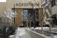 Trent Nelson  |  The Salt Lake Tribune it is written into the lease that the Sixth and Pine restaurant on the second floor of Nordstrom will be alcohol free, said a Nordstrom spokesman. The Nordstrom Bistro Cafe in Murray offers beer and wine, as do most of its other restaurants nationally.