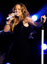 Singer Mariah Carey performs at Caesars Entertainment