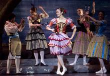 Kim Raff |The Salt Lake Tribune Sayaka Ohtaki, playing Kitri, dances during a dress rehearsal for Ballet West's