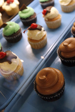 Francisco Kjolseth  |  The Salt Lake Tribune Cupcakes and other tasty vegan treats are available at City Cakes Bakery in Salt Lake City, recently declared