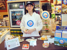 Cecile Delannes, a U.S. representative of the French Cheese Club, will be in Utah Thurday-Saturday, Courtesy photo