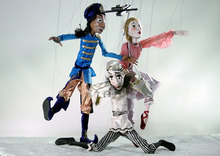 The Maritime Marionettes of Nova Scotia will perform Petrouchka Saturday at 12:30 and Sunday at 1:15 at the auditorium of the main Salt Lake City Library as part of the 10th annual No Strings Attached Puppetry Festival. Courtesy image