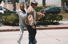 In this film image released by Paramount Pictures, Eddie Murphy, left, and John Witherspoon are shown in a scene from