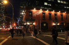 This Thursday, March 8, 2012 photo shows the P.J. Clarke's bar at East 55th Street and Third Avenue in New York. (AP Photo/Tina Fineberg)
