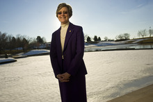 Tribune file photo After 10 years leading Weber State University, F. Ann Millner announced Friday she plans to step down.