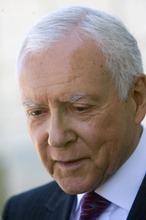 Al Hartmann  |  Tribune file photo Sen. Orrin Hatch
