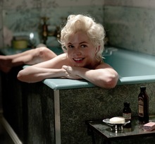 Courtesy photo Michelle Williams as Marilyn Monroe in