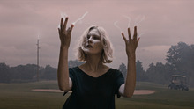 Kirsten Dunst plays a depressed woman facing the end of the world in