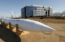 Al Hartmann  |  The Salt Lake Tribune The ICBM Building is the first commercial building developed at Falcon Hill National Aerospace Research Park, a massive business park being developed on the west side of Hill Air Force Base.