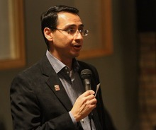Rick Egan  | The Salt Lake Tribune  Senate Minority Leader Ross Romero, D-Salt Lake City, is seeking the Democratic nomination for Salt Lake County mayor.