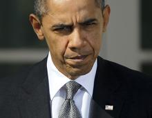 President Barack Obama speaks in the Rose Garden of the White House in Washington, Tuesday, March 13, 2012. (AP Photo/Pablo Martinez Monsivais)