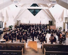 American West Symphony, with conductor Joel Rosenberg. (Courtesy image)