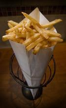 Paul Fraughton | The Salt Lake Tribune   An order of Belgian frites (fries) from Bruges Waffles and Frites in Salt Lake City.