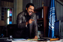 In this film image released by Columbia Pictures, Ice Cube is shown in a scene from