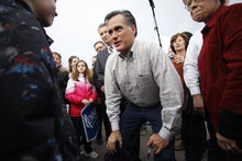 Eric Gay  |  The Associated Press Mitt Romney leads the list of GOP candidates for president that have formally filed their candidacies in Utah. Rick Santorum, Newt Gingrich and Ron Paul also will be on the primary ballot, along with LDS Church critic Fred Karger.