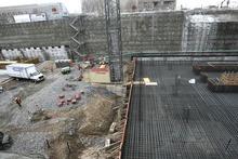 Tribune file photo Crews prepare to pour concrete on the northwest corner of the City Creek construction site in 2008.