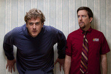 Jason Segel, left, plays Jeff and Ed Helms plays Pat in