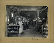 Tribune file photo  Workers are seen at the ZCMI factory in this photo believed to be from August 1899.