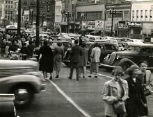 Tribune file photo The corner of 200 South Main in September, 1950.