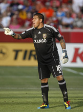 Chris Detrick | Tribune file photo Real's Nick Rimando at Rio Tinto Stadium in June 2010.