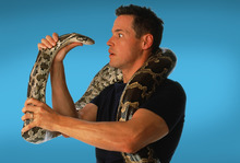 Jeff Corwin and some of his animal pals will appear Saturday in Park City. Courtesy photo