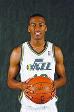 Francisco Kjolseth  |  The Salt Lake Tribune New Jazz recruit Alec Burks, a promising 19-year-old prospect is poised to help the Utah Jazz. June 25, 2011.
