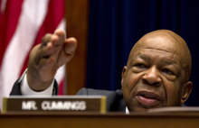 Carolyn Kaster  |  AP file photo Rep. Elijah Cummings, D-Md., ranking Democrat on the House Oversight and Government Reform, and two other members of Congress investigating shortages of crucial drugs are targeting nearly two dozen fake pharmacies allegedly set up solely to buy and resell the drugs at huge markups.