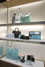 Paul Fraughton | The Salt Lake Tribune Soft goods on display at the new Tiffany store.
