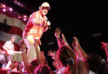 Tribune file photo The Beach Boys perform at the USANA Amphitheatre in West Valley City in July 2003.