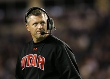 Tribune file photo Utah football coach Kyle Whittingham has opted for familiar faces steeped in the Ute program over coaching experience in building his staff.