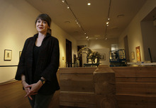 Scott Sommerdorf     The Salt Lake Tribune              Jill Dawsey, chief curator at the UMFA, has left the position after three years of innovative contemporary art programming, including the