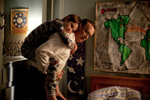 In this image released by Warner Bros. Pictures, Thomas Horn portrays as Oskar Schell and Tom Hanks portrays Thomas Schell in a scene from