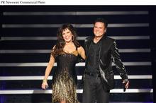 Donny & Marie unveil headlining variety show at Flamingo Las Vegas.  (PRNewsFoto/Flamingo Las Vegas, Ethan Miller/Getty Images)