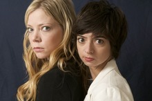 Ricki Lindhome and Katie Mucucci are Garfunkel and Oates. Courtesy photo
