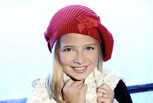 Young opera singer Jackie Evancho, who performed on