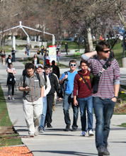 Steve Griffin  |  The Salt Lake Tribune  University of Utah students will pay annual tuition of more than $6,000 next year after Regents approved increases for all Utah colleges and universities on Friday. However, this increase is smaller than those in recent years.