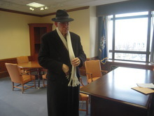 Thomas Burr  |  Tribune file photo Sen. Bob Bennett prepares to leave his now-empty Senate office for the last time after being ousted by tea partyers at the 2010 Utah Repubican Convention. Bennett thinks this year's new crop of delegates has iced the boiling tea party movement.