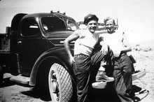 Photo courtesy Utah State Historical Society  Civilian Conservation Corps workers, 1940.