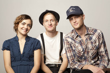 The Denver roots band The Lumineers.