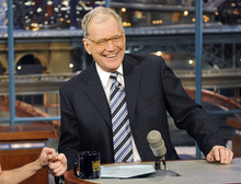 FILE - In this Jan. 3, 2011 file photo provided by CBS Broadcasting, host David Letterman is shown on the