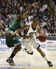Steve Griffin  |  Tribune file photo Weber State's Damian Lillard drives past Portland State's Melvin Jones during semifinal game of the Big Sky Tournament at the Dee Events Center in Ogden in 2010.