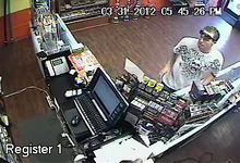 Police released this surveillance image of a man who robbed a dry cleaner business at 2945 E. 3300 South Saturday night. He turned himself in to authorities on Tuesday.