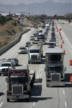Francisco Kjolseth  |  The Salt Lake Tribune Utah motorists can expect more traffic snarls this summer as crews wrap up work on the Interstate 15 rebuild in Utah County.