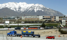 Francisco Kjolseth  |  The Salt Lake Tribune Rapid growth in Utah County has contributed to the expansion and upgrade along the Interstate 15 corridor. The recent upgrade of Utah Valley University to a full university also has brought in more growth.