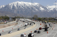 Francisco Kjolseth  |  The Salt Lake Tribune Rapid growth in Utah County has contributed to the expansion and upgrade along the I-15 corridor.