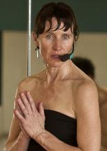 Leah Hogsten  |  The Salt Lake Tribune Instructor Jackie Wheeler leads students of Bikram Yoga in Sandy.