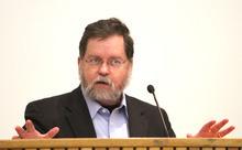 Rick Egan  | The Salt Lake Tribune   Paul Myers speaks about
