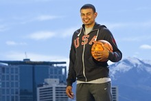 Chris Detrick  |  The Salt Lake Tribune Utah Jazz guard Earl Watson poses for a portrait Friday March 30, 2012.